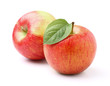 Two ripe apples