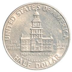 Half US Dollar coin