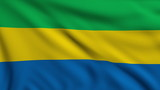 Flag of Gabon looping