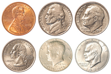 USA coins - Tail side