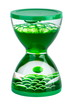 Green gel hourglasses