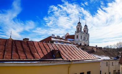 Vilnius roof-top view