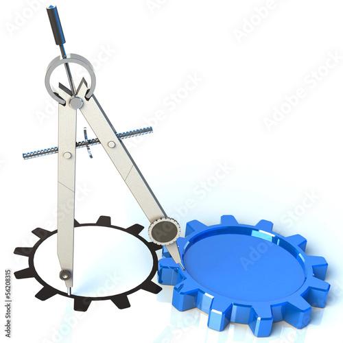 Zirkel Konstruktion