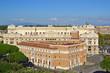 Palazzaccio e Casa dei Mutilati visti da Terrazza dell'Angelo