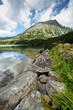 Kozi Wierch pick in Polish High Tatra mountains