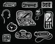 equipment badges sketch