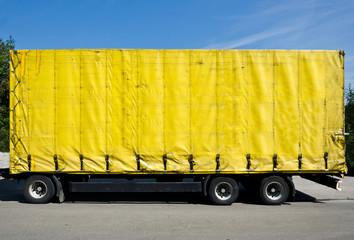 LKW Gelb Blank