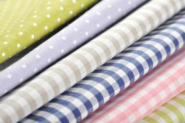 heap of  fabrics