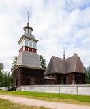 Petajavesi wooden church unesco world heritage site poster