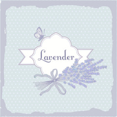 Lavender, herb, flower, floral vintage, packaging  background