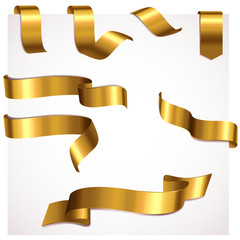 Bänder Set Gold