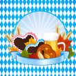 Vector Illustration of an Oktoberfest Background