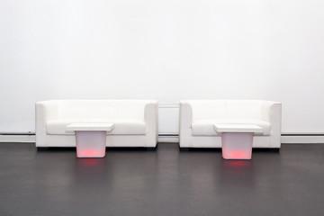Sofas und Tische