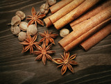 Aromatic spices poster