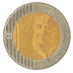 10 Israeli New Sheqel coin - Golda Meir Edition