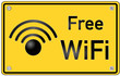 WLAN WiFi Schild  #130914-svg01
