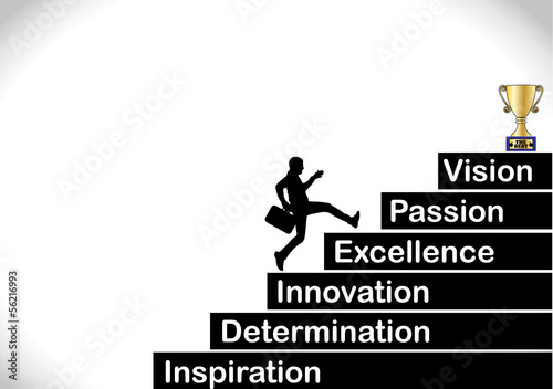 professional businessman inspiration determination core values