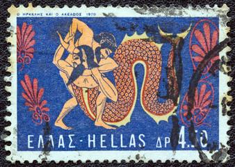 Hercules fighting Achelous (Greece 1970)