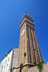 Piran, Pirano, Slovenia - campanile Chiesa di San Giorgio