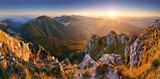 Fototapety Slovakia mountain peak Rozsutec