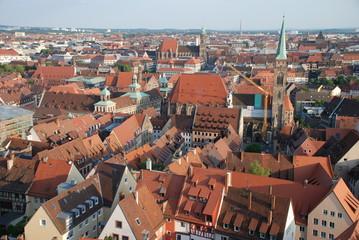 Stadt Nürnberg Nuernberg Bayern Bavaria Deutschland Germany