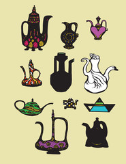 Teapots collection