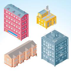 Isometric Buildings #2