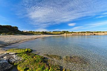 San Pietro island - La Bobba beach