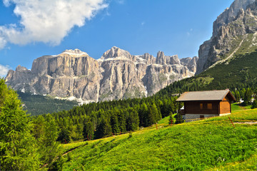 Dolomiti - high Fassa Valley