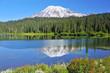 Mount Rainier volcano in Washington State, USA