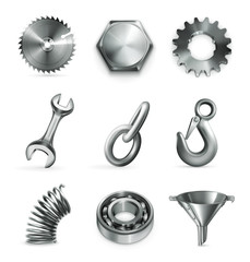 Industry, set of icons