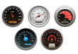 Car speedometers set
