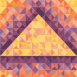 Abstract Geometric Background in Vintage Style