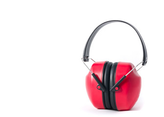 red earmuffs