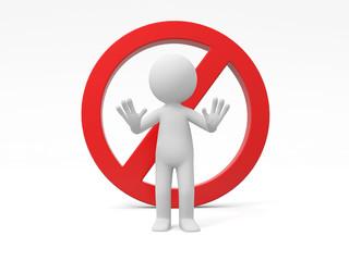 Symbol stop