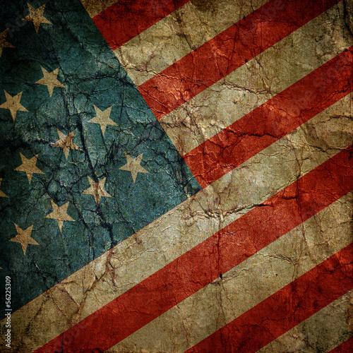 Poster USA-Flagge