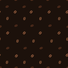Coffee Beans Seamless Patterns