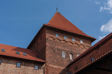 Nidzica Castle in Poland