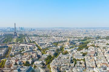 Paris in hot day.