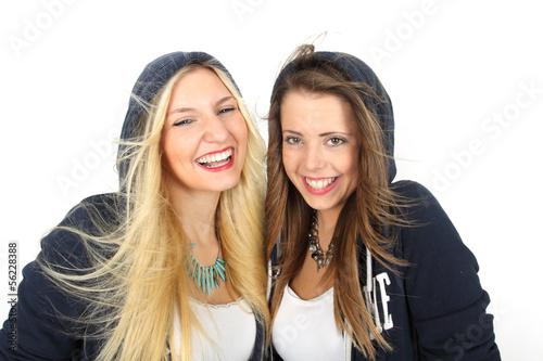 junge glückliche Menschen