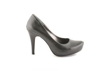 Woman black shoe