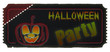 Ticket Halloween - Kürbis 2