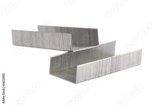 Staples isolated
