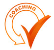 coaching sur symbole validé orange