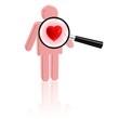 Untersuchung des Herzens - Check der Gefühlslage