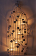 Bird cage candle ornament