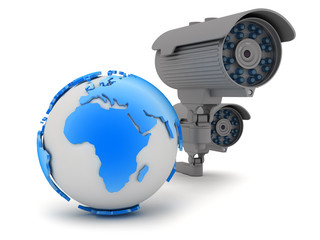 Security - video surveillance camera