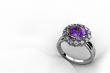 Antique amethyst ring - 56233960