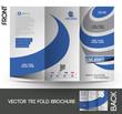 Corporate Business Tri-Fold Mock up & Brochure Design