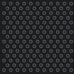 Schwarze Noppenfläche